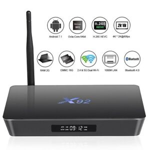 X92 OCTA CORE ULTRA 4K ANDROID 7 TV BOX IPTV & TERRARIUM TV