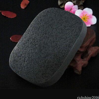 Natural Bamboo Facial Soft Puff Face Washing Cleansing Exfoliator Sponge ZJE