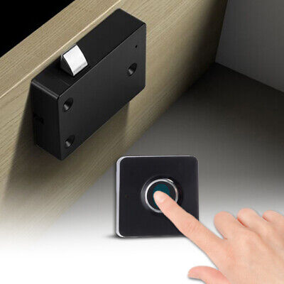 Smart Fingerprint Lock Electronic Biometric Digital Cabinet Drawer Locks Hs1367