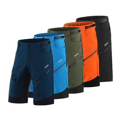 ARSUXEO New Arrival Mens Cycling Shorts Loose Fit Outdoor Sp