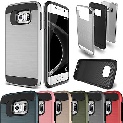 Shockproof Hybrid Brushed Slim Case For Samsung Galaxy S3S4S5S6S7 Edge Note 345  - Samsung S3 Case