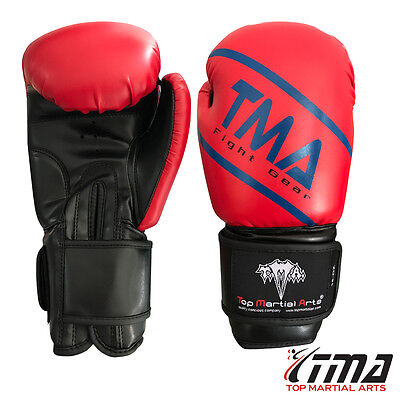 TMA Boxing gloves best for kickboxing, Martial Arts, MMA, Muay