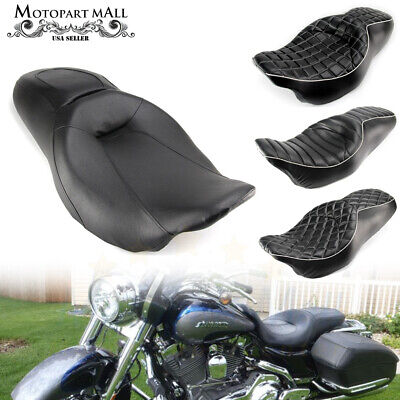 Two-Up Driver & Passenger Seat For Harley Road King Street Glide FLHR (King Street Mall)