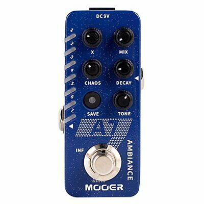 Mooer Micro Compact A7 Ambient Reverb Effects Pedal