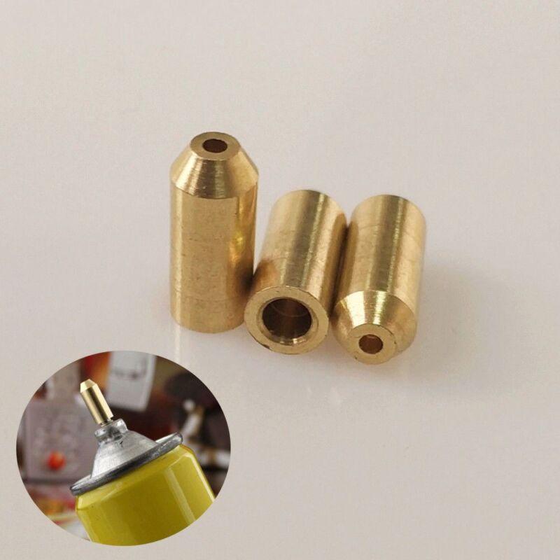 3X Brass Gas Refill Adapter Fit For S.T Memorial Lighter DIY Repair Kit