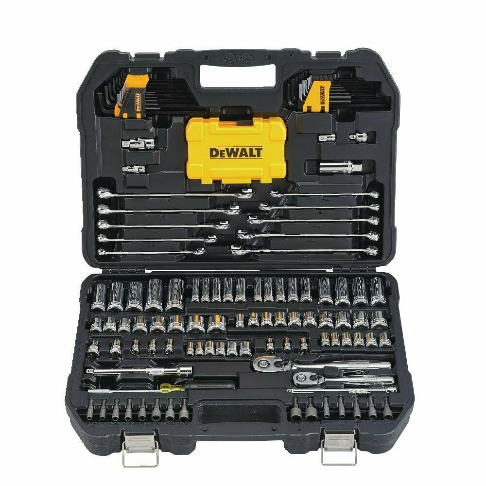 142-Piece DEWALT Mechanics Tools Kit and Socket Set