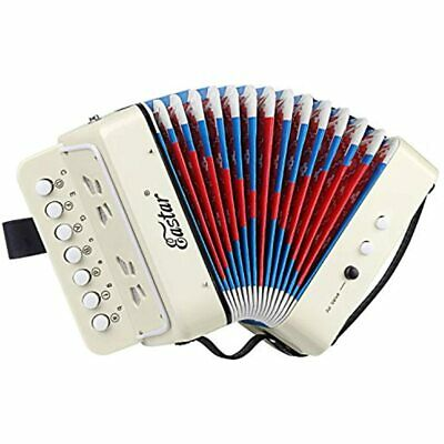 Kids Accordion Toy Accordian Mini Musical Instruments 10 Keys Button For Child