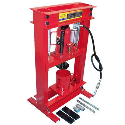 20 Ton Air Hydraulic Can Crusher Shop Press Oil Filter