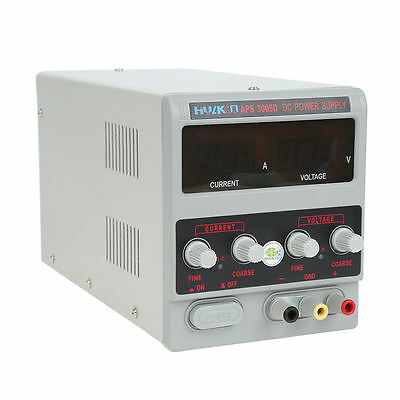 Labornetzgerät 0~30V 5A Labornetzteil Netzgerät Trafo Regelbar DC Netzteil TOP
