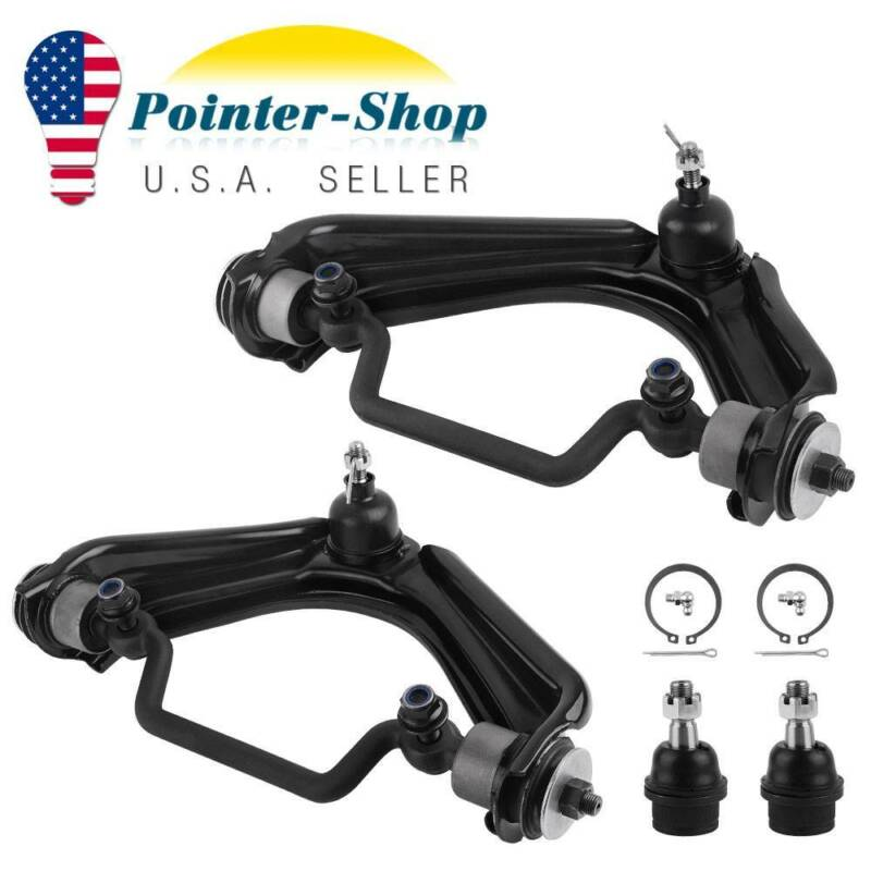4pc Front Upper Control Arm & Lower Ball Joint for 2002-2004 2005 Ford Explorer