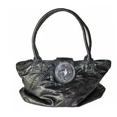 DIESEL Geräumig Tasche Handtasche Schultertasche Beschichtet Verspielt NEUWERTIG