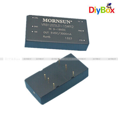 5v Single Output Vrb1205ld 15w Vrb1205 Dc-dc Converter Isolated Mornsun Dip