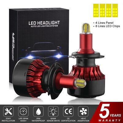 как выглядит 4 Sides 200W H7 LED Headlight Bulbs Conversion Kit 12000LM Super Bright LD2050 фото