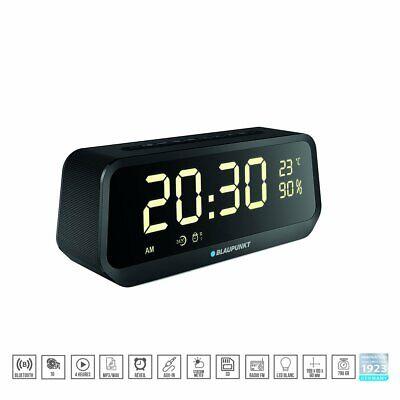 Radio Despertador Digital Altavoz Bluetooth SD AUX-IN manos libres batería