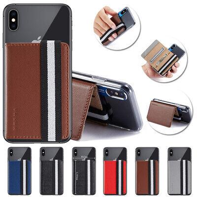 Universal Adhesive Pocket Stick On Wallet Case For Cellphone Back Card Holder