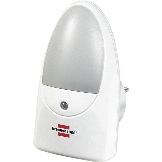 Brennenstuhl Orientierungslicht LED OL 02 Dämmerungssensor Nachtlicht, weiss