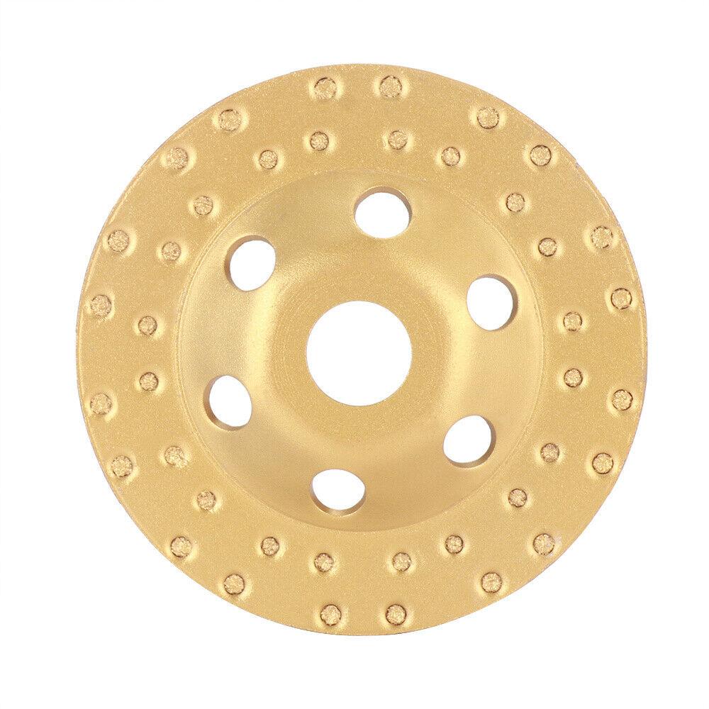 150 mm Diamantschleiftopf E Beton Granit Schleifteller Schleifscheibe Flex