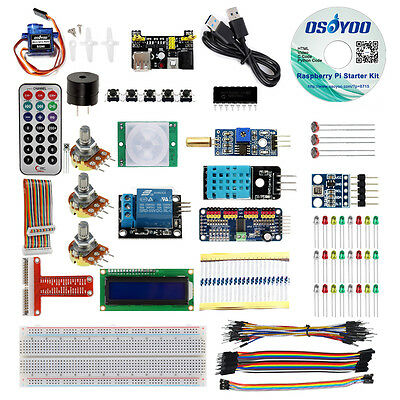 Us Raspberry Pi 3 Zero W Starter Kit Rpi Learning Cpython Code Video Tutorial