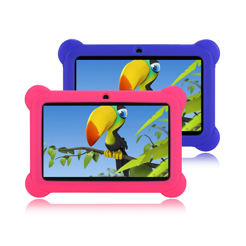 "7"" inch Android 4.4 Tablet PC For Kid Children Dual Cameras"