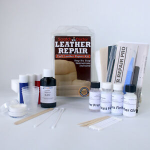 Leather Chair Scratch Repair LEATHER Repair Kit for ALL Sofa , Chair etc. FIX Tear, Scratch, Scuffs ...