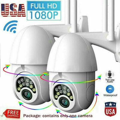V380Pro HD 1080P IP Camera Outdoor WiFi PTZ CCTV Security Wireless Smart IR Cam
