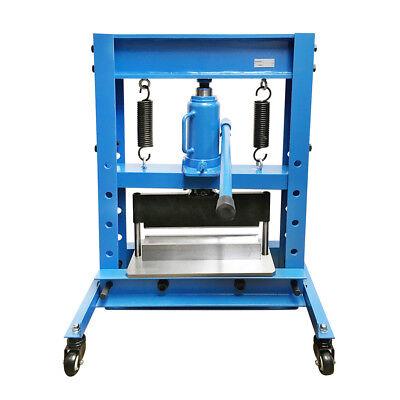 12 Ton Hydraulic Shop Press Brake V Block Bending 5mm 4 Gauge 12 Bender Machine
