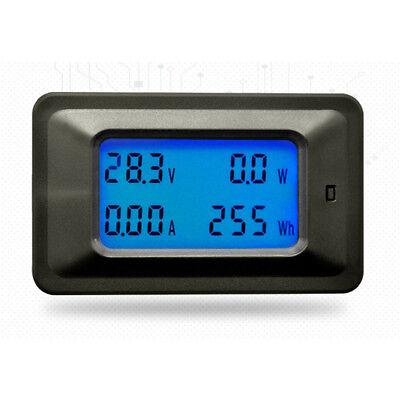Dc 20a 100v Lcd Digital Volt Watt Current Power Meter Ammeter Voltmeter Sj