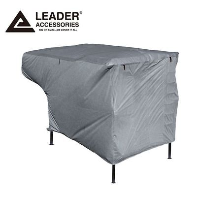 New Easy Setup Truck Camper Cover Fits RV 10'-12' with Assist Poles