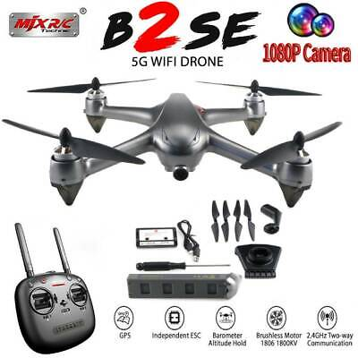 MJX B2SE RC Drone 5G 1080P Camera Wifi FPV Brushless GPS 2.4G 4CH Quadcopter