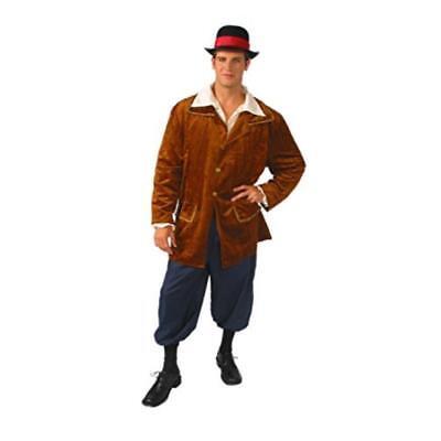 German Bavarian Costume Men's Oktoberfest 3Pc Br/Navy Jacket Knickers & Shirt ](Costume Knickers)