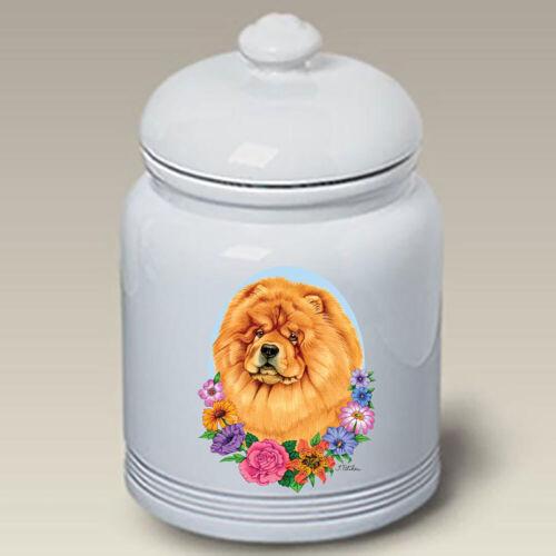 Chow Chow Ceramic Treat Jar TP 47114