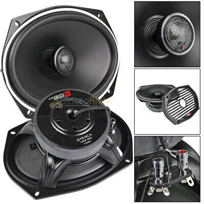 "Motorcycle Subwoofer 6x9"" Inch 2 Way Coaxial Speaker COAXSUB"