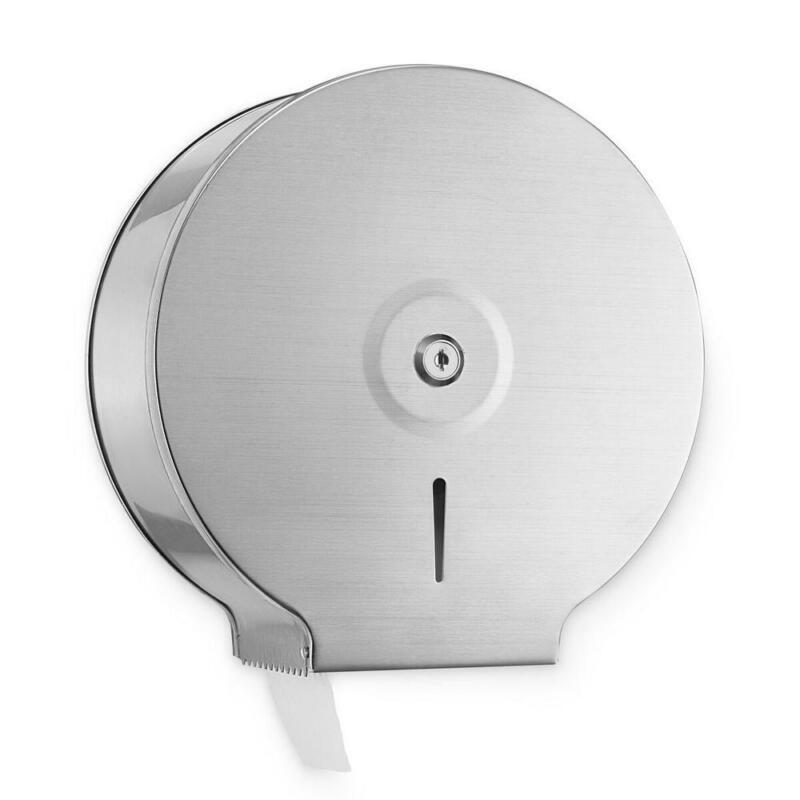 Alpine Industries Jumbo Toilet Tissue Dispenser Wall Mount Stainless Steel