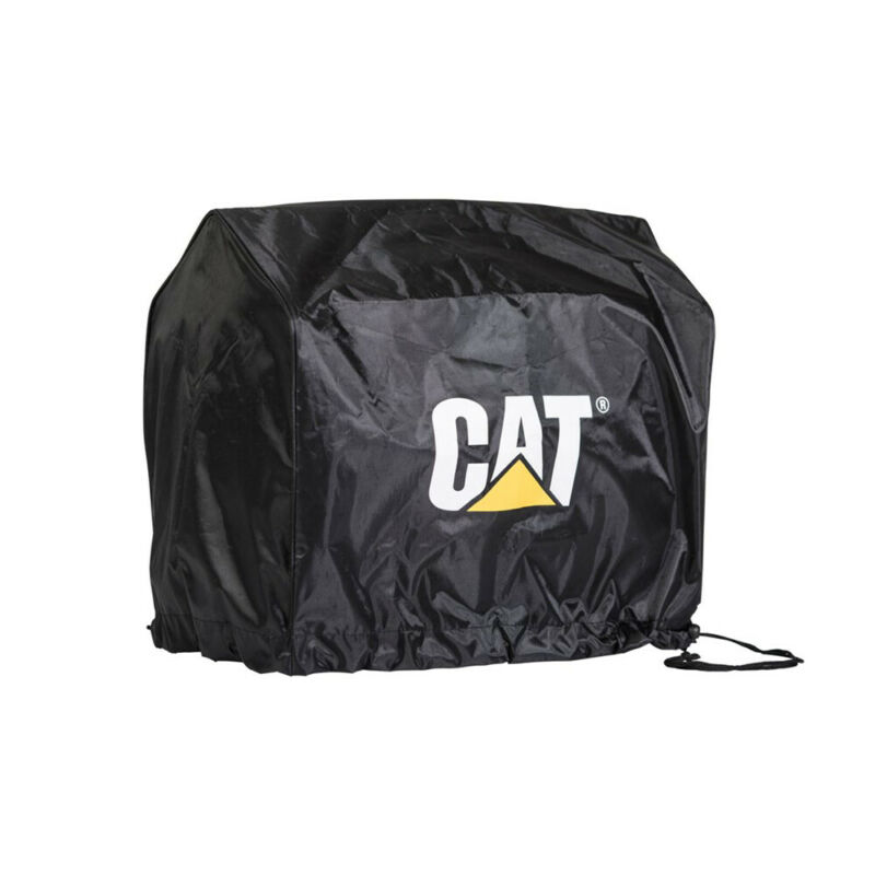 CAT INV2000 Durable Slip On Polyester Protective Inverter Generator Cover, Black