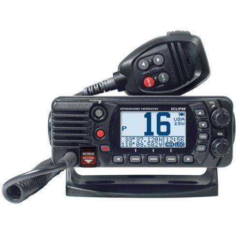 Standard Horizon Black VHF Marine Boat Radio GX1400 Eclipse Series Digital NEW