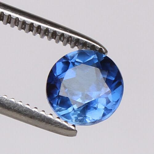Natural Blue Sapphire Ceylon Cornflower 2.90 Ct Round Loose Certified Gemstone