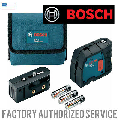 BOSCH GPL3 3 Point self leveling Laser Level WITH FULL ONE YEAR WARRANTY!!!