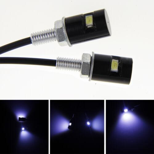2x anh nger kennzeichen beleuchtung kennzeichenleuchte nummernschildbeleuchtung ebay. Black Bedroom Furniture Sets. Home Design Ideas