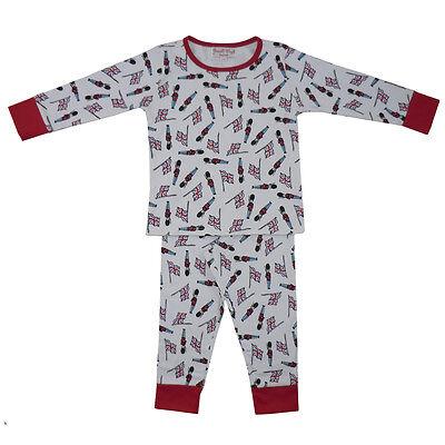 Cotton Knit Pyjama (100% Cotton Knit Pyjamas - Beautifully Soft - Soldiers - Powell Craft - Ages 2-7)