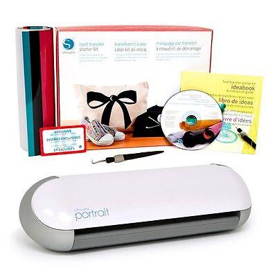 Schneideplotter Silhouette Portrait® Textiltransfer Starter Set
