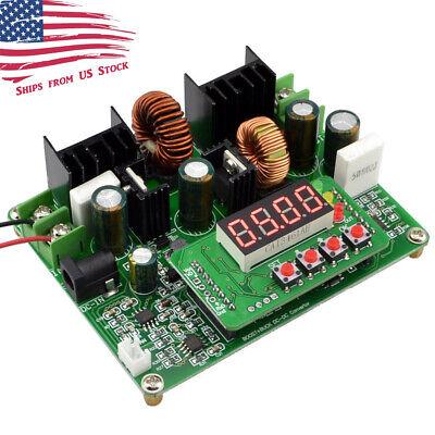 D3806 0-38vdc Step Up Down Cccv Power Converter Module W Voltmeter Ammeter