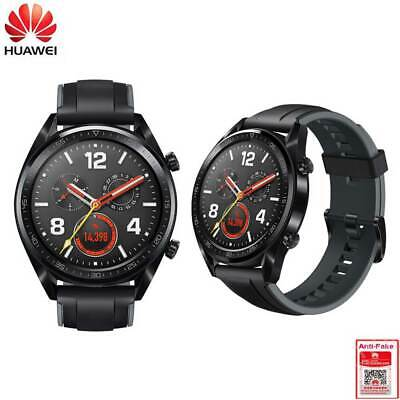 Huawei Watch GT FTN-B19 Sport Edition Smart Watch 46mm GPS - Graphite Black Graphite Heart Rate Monitor
