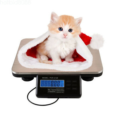 Commercial Scales Digital Platform Scale Postal Scale Lcd 0.1kg 300kg Pet Weigh