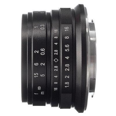 25mm F/1.8 Vade-mecum Focus Prime Lens MF for Sony E NEX 7 6 A6000 A5000 A6500 A6100