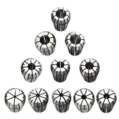 11pcssizes Er25 Spring Collet Set Cnc Milling Lathe Tool Workholding Tool U3z9