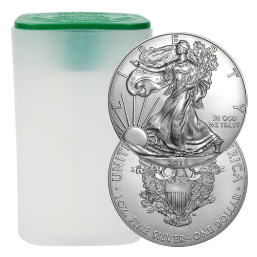 Купить 2018 $1 American Silver Eagle 1 oz Brilliant Uncirculated