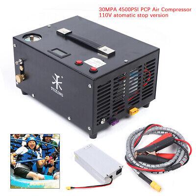30mpa4500psi Air Compressor Pcp Airgun Scuba Air Pump High Pressure Us New