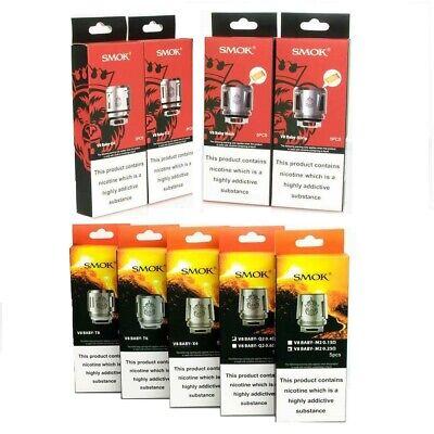 SMOK TFV8 TFV12 BABY PRINCE TANK COILS Q4 MESH STRIP T12 M2 Q2 X4 T6 T8 COILS