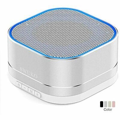 SWUKO Portable Bluetooth Speaker: Better Bass, Bluetooth 4.2, Built-in-Mic