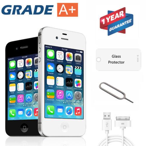 Apple iPhone 4S 8GB 16GB 32GB Factory Unlocked Smartphone AT&T Sim Free Mobile